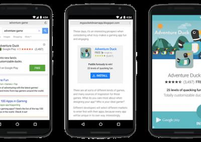 In-App Actions : incitez vos utilisateurs à effectuer des actions précises grâce aux AC de Google